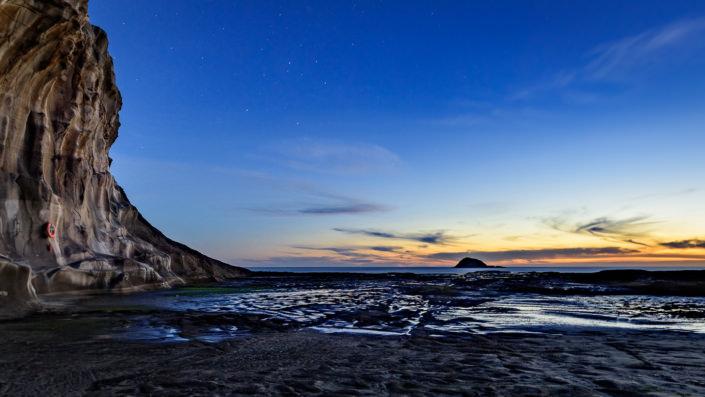 Flat Rock - Muriwai Beach