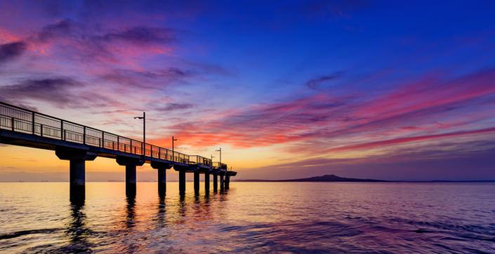 Murrays Bay Wharf, Auckland